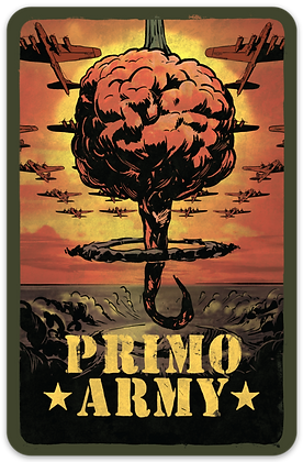 """Official """"Primo Army"""" Sticker!"""