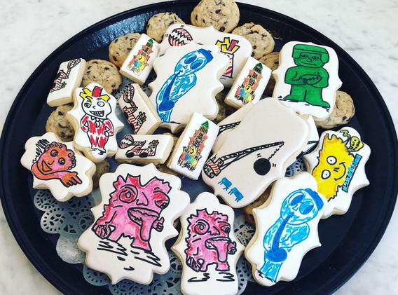 Amazing and delicious Gargoyle cookies!