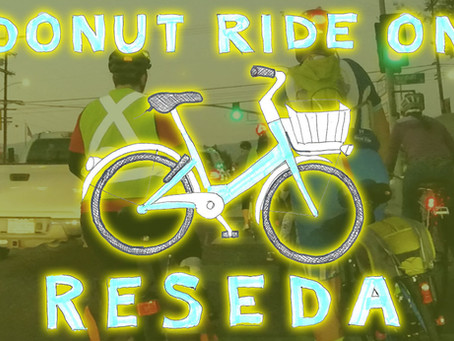 Donut Ride on Reseda Wrap Up