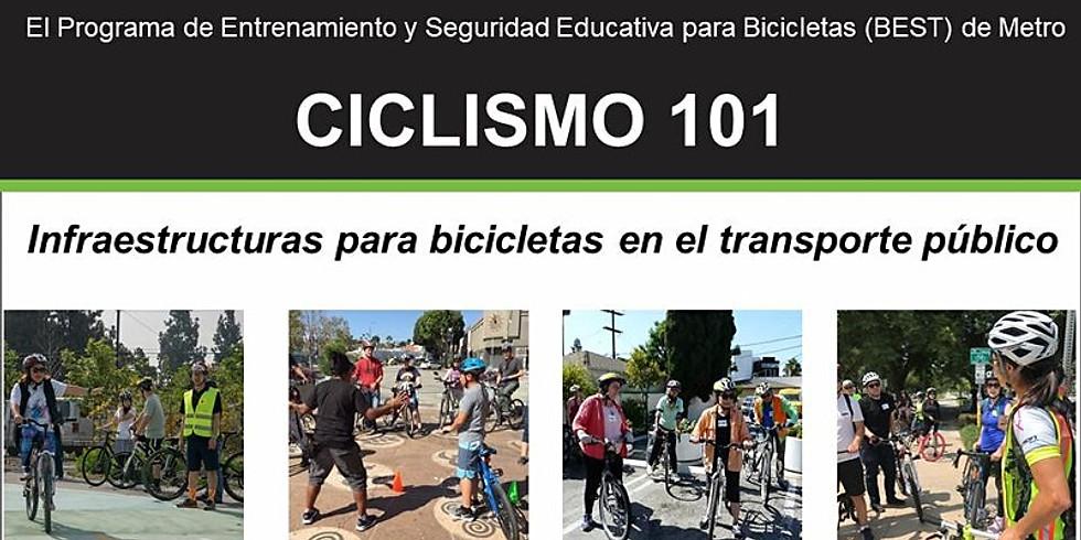 Ciclismo 101: Infraestructuras para bicicletas en el transporte público