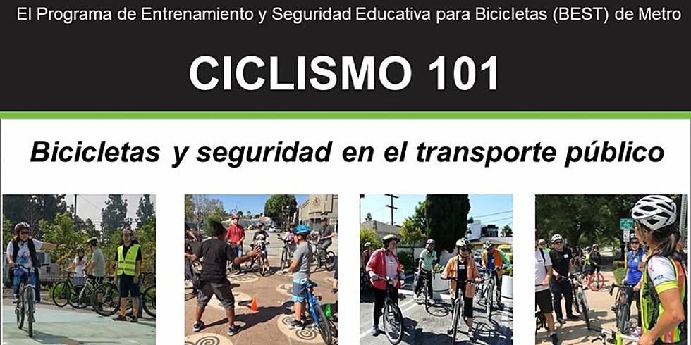 Ciclismo 101: Bicicletas y seguridad en el transporte público - En línea