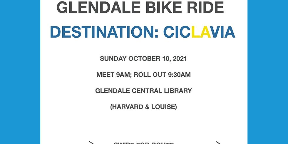 Walk Bike Glendale feeder ride to CicLAvia - Heart of LA