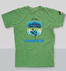 LA River Challenge green tshirt.jpeg