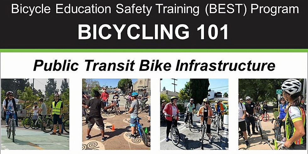 Bicycling 101: Making Use of Public Transit Infrastructure – Online Class