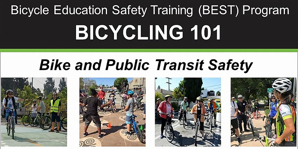 Bicycling 101: Biking and Public Transit Safety - Online Video Class