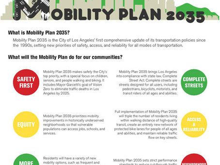 Mobility Plan 2035 Will Get L.A. Moving—Spread the Word!