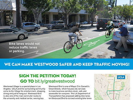 Support a Safe & Accessible Westwood Blvd: Sign the Petition Today!