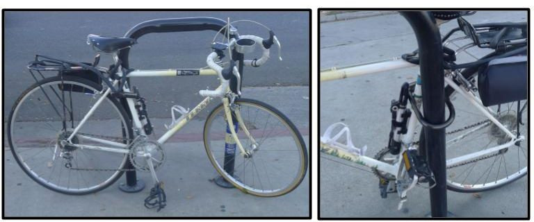 The proper way to lock up your bike