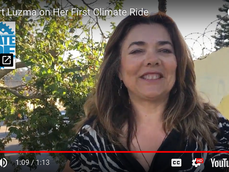 Supporting Areli & Luzma on Climate Ride