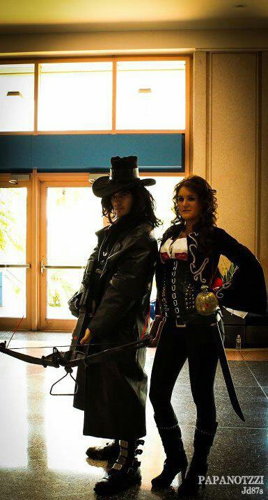 Van Helsing and Princess Anna