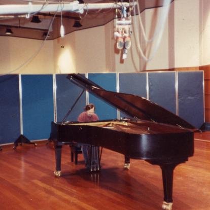 Recording for BBC, Radio 3 (London, UK, 1997)