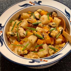 Mussels Ragout