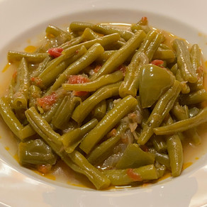 Green Beans in Olive Oil