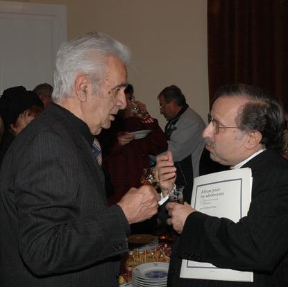 Chatting with Armenian composer Alexander Arutiunian  (Yerevan, Armenia, 1994)