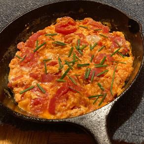 Tomatoes with Eggs
