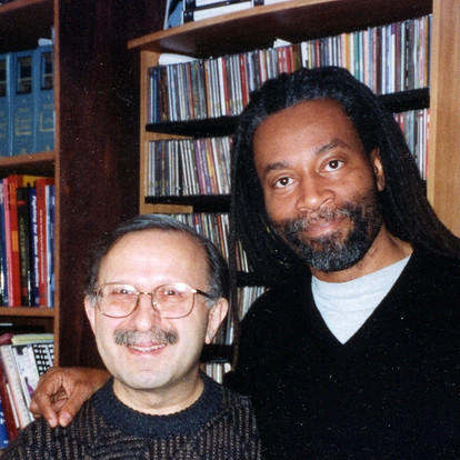 With vocalist and conductor Bobby McFerrin (New York, USA, 2003)