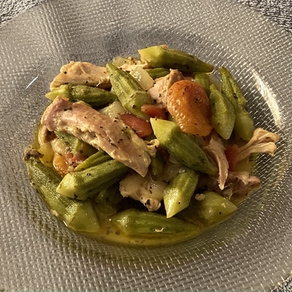 Okra with Chicken