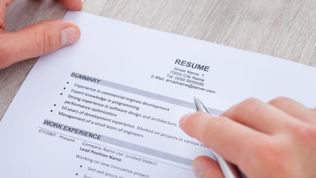 Top 4 Things You Should Include on Your Job Resume