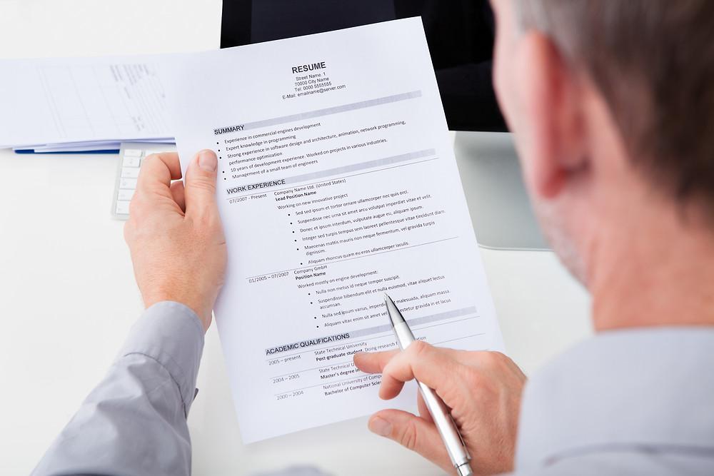 Resume Template | Staffing Agency Los Angeles | Glendale