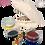 Thumbnail: Wapiyon Köpekbalığı Seramik Boyama Kiti (3 yaş ve üzeri)