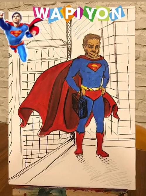 Süpermen Yapım Kiti (3 yaş ve üzeri)