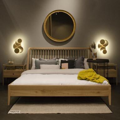 51247 Spindle bed - Oak clutch modern.jp