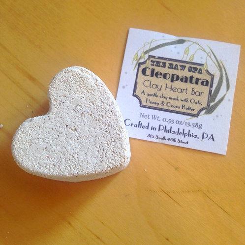 Cleopatra Clay Heart Bittie Bar