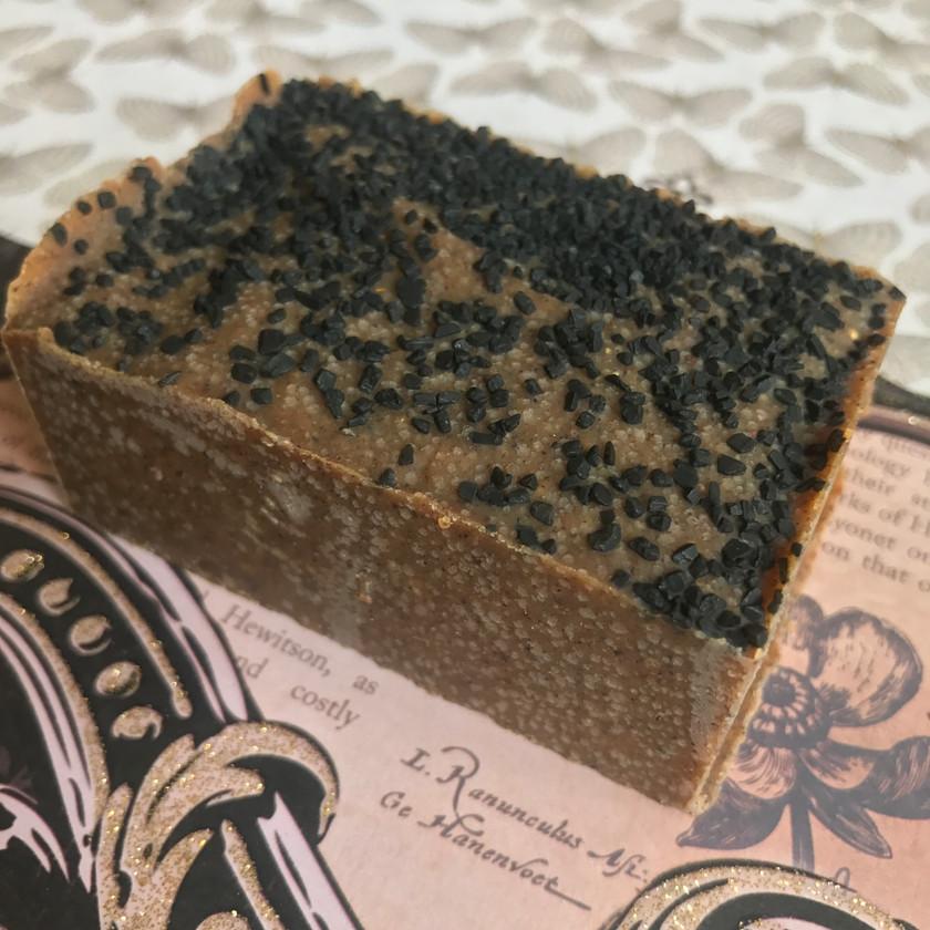 Hatshepsut Salt Bar- a moisturizing neem soap with fresh spices!