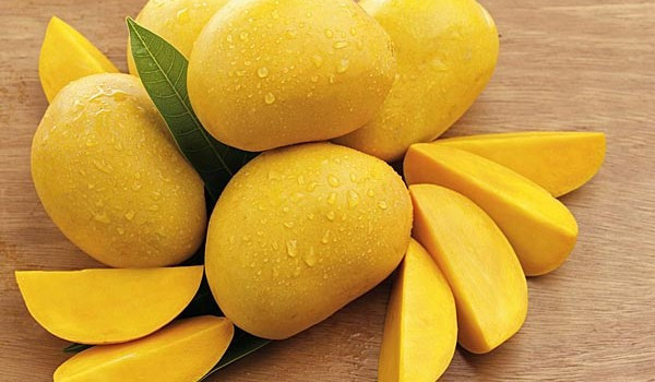 Mangoes for EVERYONE!!!! YIPPEE!!!! (Mack is obsessed with these yellow