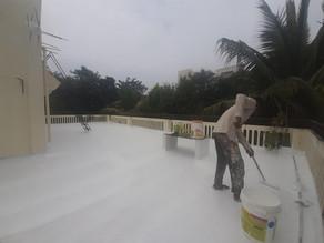 waterproofing at govardhan garden