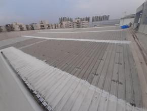 metal shed waterproofing acrylic