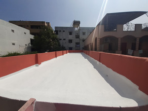 roof waterproofing using dr fixit newcoat