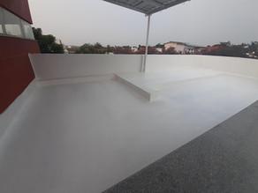 waterproofing in thummukunta using dr fixit