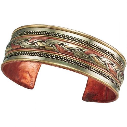 Copper & Brass Bracelet (Nepal)
