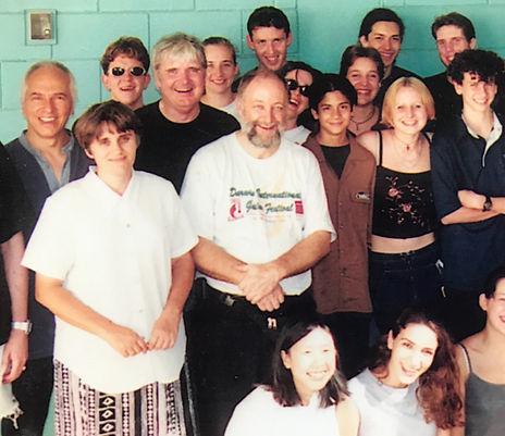 Milica Davies with John Casey, John Williams and Guitarstrophe