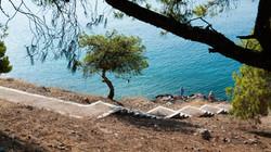 Ορμίσκος - Μπανιέρα για κολύμπι στο Μπίστι