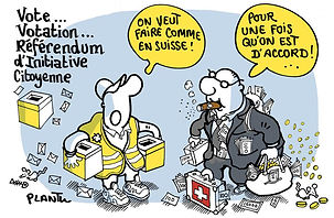 En Belgique, nous élisons des maîtres qui votent à notre place