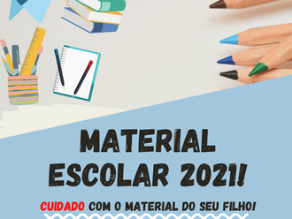[Material Escolar] Confira as novas regras para 2021.