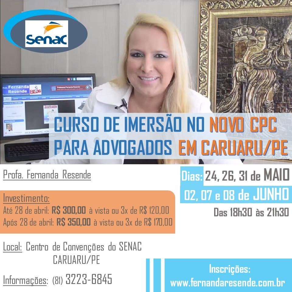 http://www.fernandaresende.com.br/p/imersao-no-novo-cpc-para-advogados.html