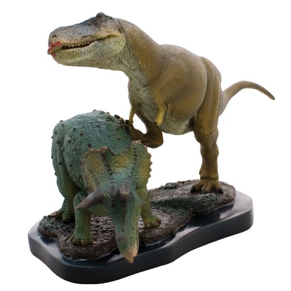 ティラノサウルス&トリケラトプス