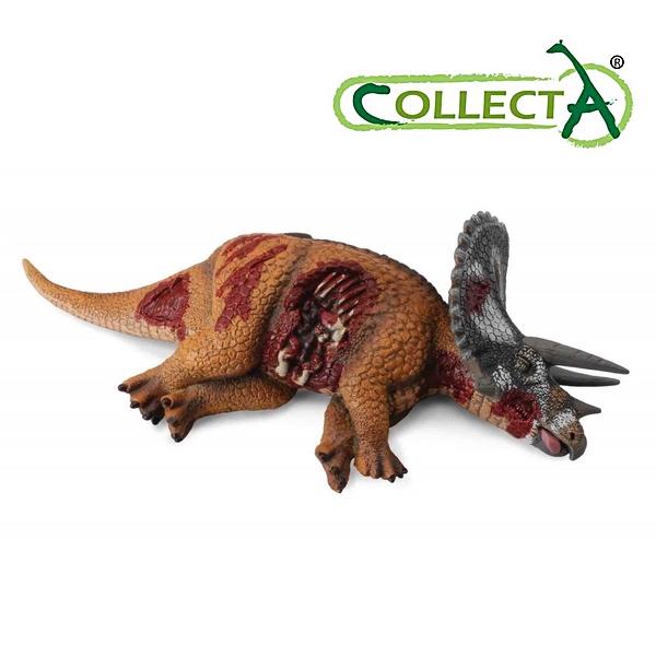 トリケラトプス 死骸