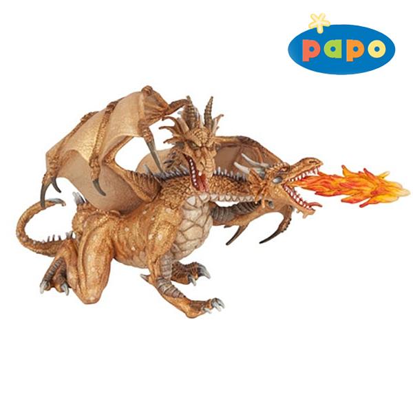 双頭ドラゴン(ゴールド)