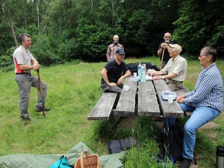 Slåtter på Åraslövs mosse 27 juni