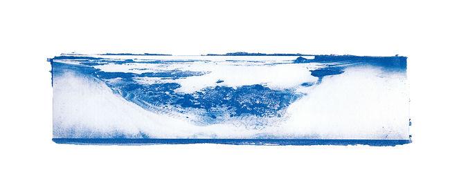 Cyanotype landscape