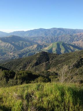 Santa Ynez Mountain Range
