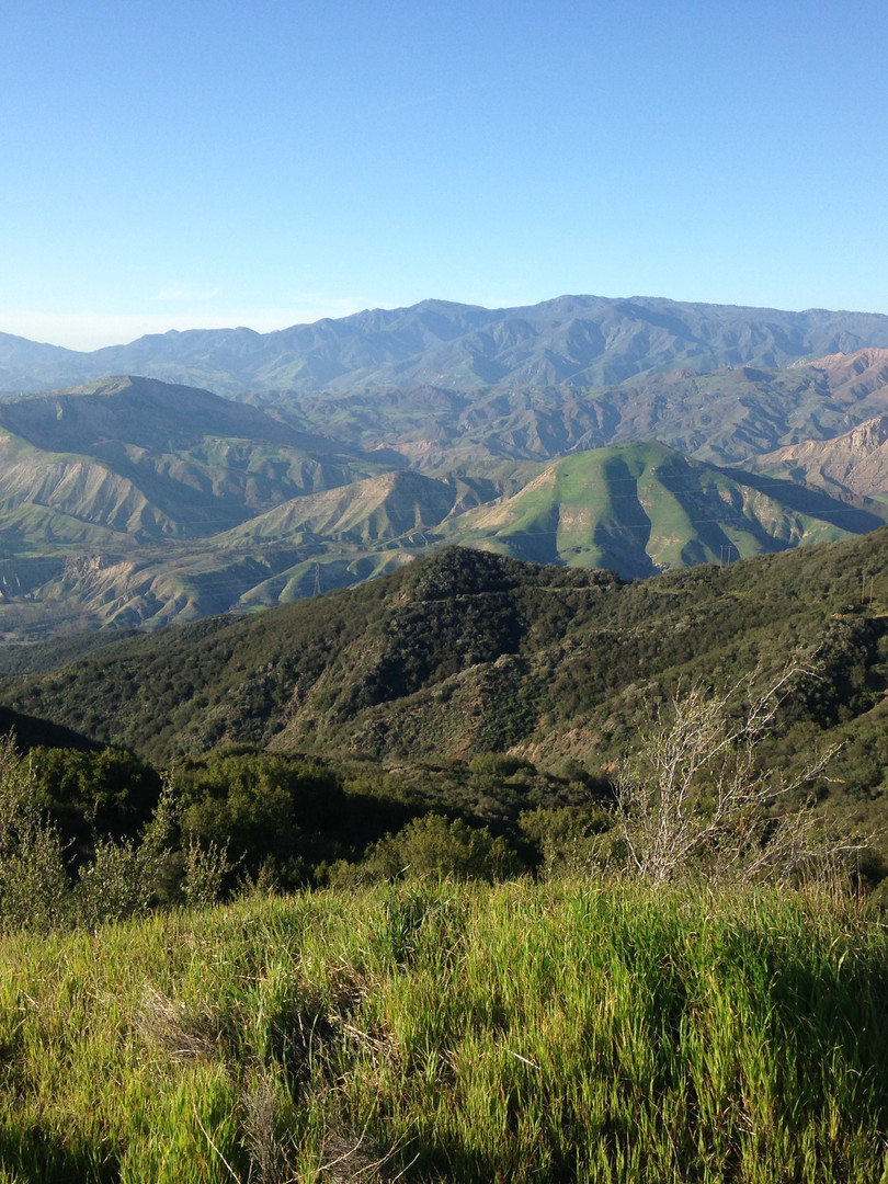 Santa Ynez Mountain Range