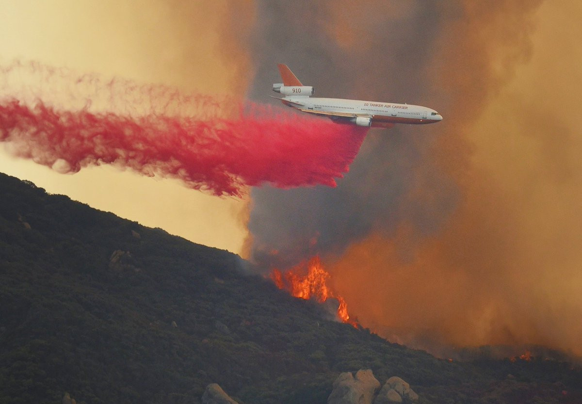Photo Credit: Mike Eliason, SB County Fire