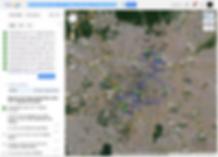 google maps para criar rota de entrega
