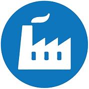 logo indústria manufatura