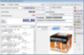 software varejo emissão cupom fiscal nfe s@t nfce tela pdv